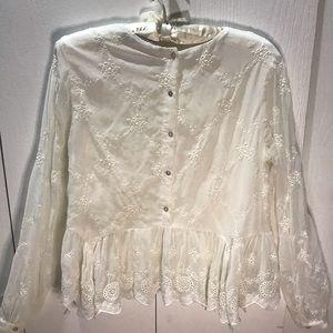 Zara Lace Blouse - Victorian Blouse Vintage Style